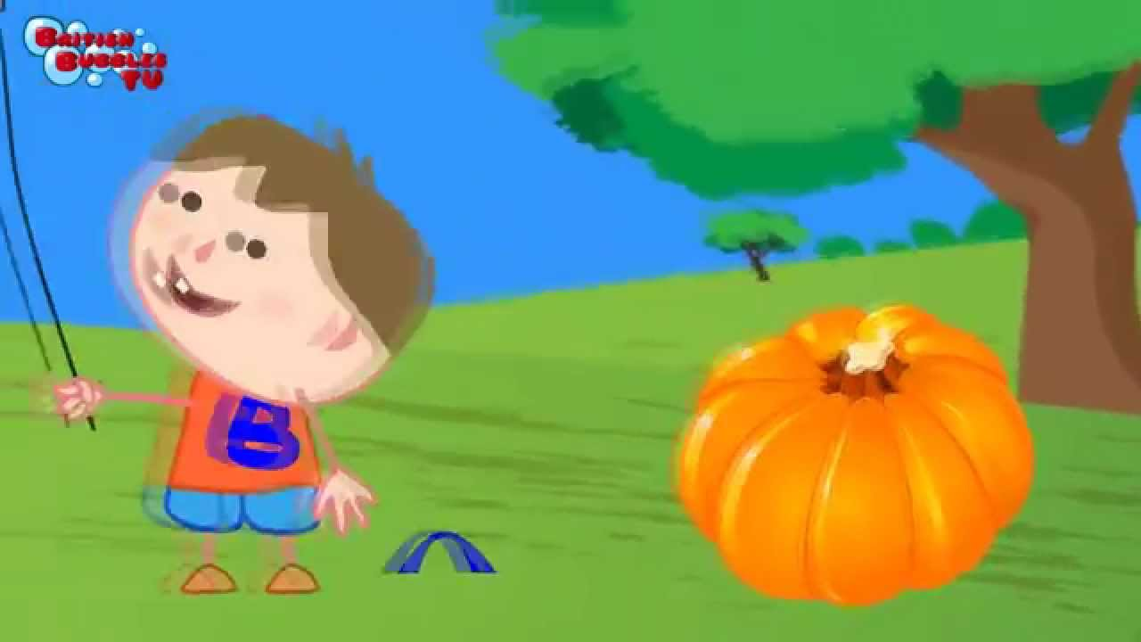 Couleurs en anglais avec des dessins animés