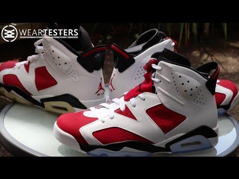 73b5f8cb7796b0 Air Jordan 6 Retro  Carmine  2014. WearTesters