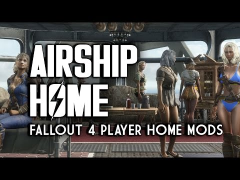 Airship Home - Player Home & Settlements - Fallout 4 Mods