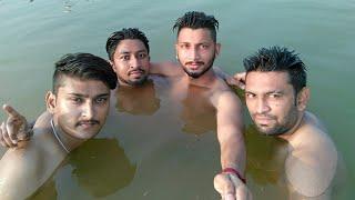 Masti in govind sagar lake 2016 himachal pradesh ! By Discover with Shubam
