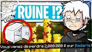 COMMENT PERDRE 2 MILLIONS DE MONEY SUR HADARIA ! ✅