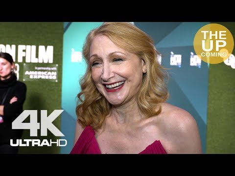 Patricia Clarkson on Out of Blue and female films at London Film Festival premiere