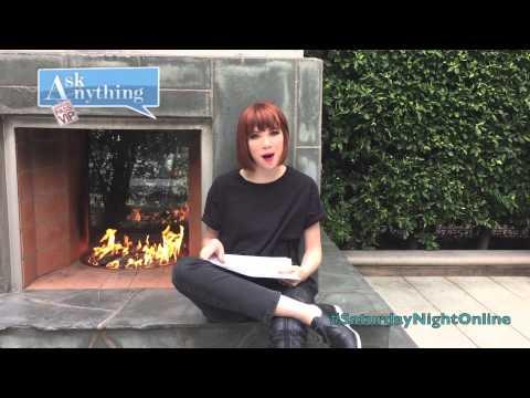 Carly Rae Jepsen Interactive Chat w/ Romeo Saturday Night Online  - AskAnythingChat