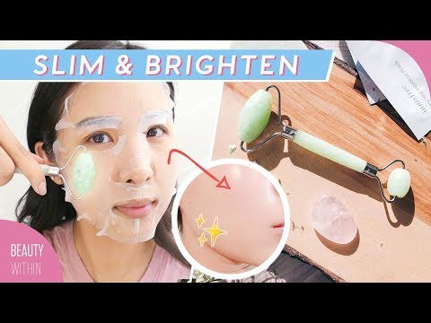 How To Really Use the Jade Roller In Your Skincare Routine: Slim + Brighten thumbnail