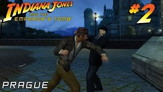 Indiana Jones and the Emperor's Tomb HARD Chapter 2: Prague | Gameplay Walkthrough