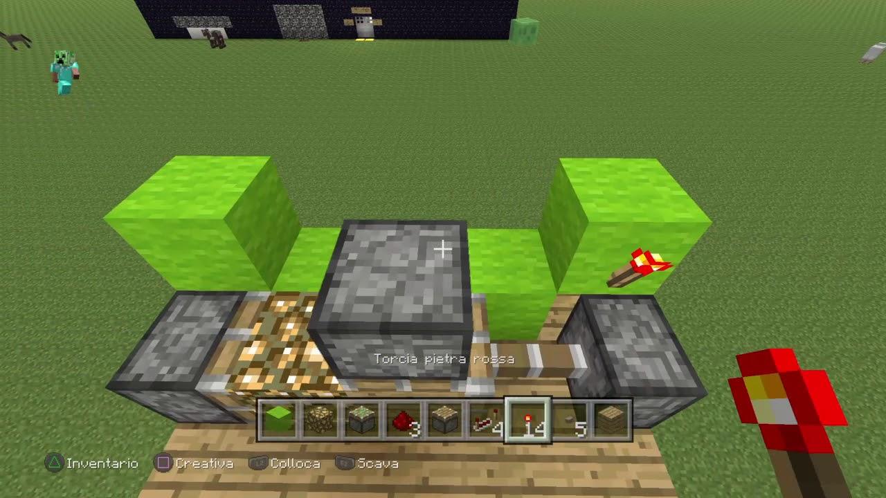 Minecraft come costruire un sistema di illuminazione per for Creare la propria casa