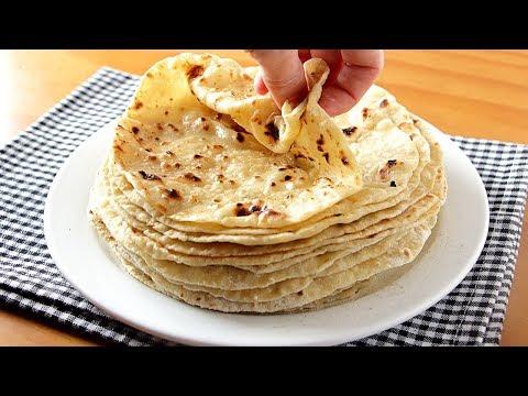 Salen EXTRA TIERNAS estas tortillas de harina, queso y papa
