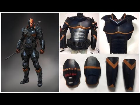 deathstroke armor template how to make deathstroke armour youtube