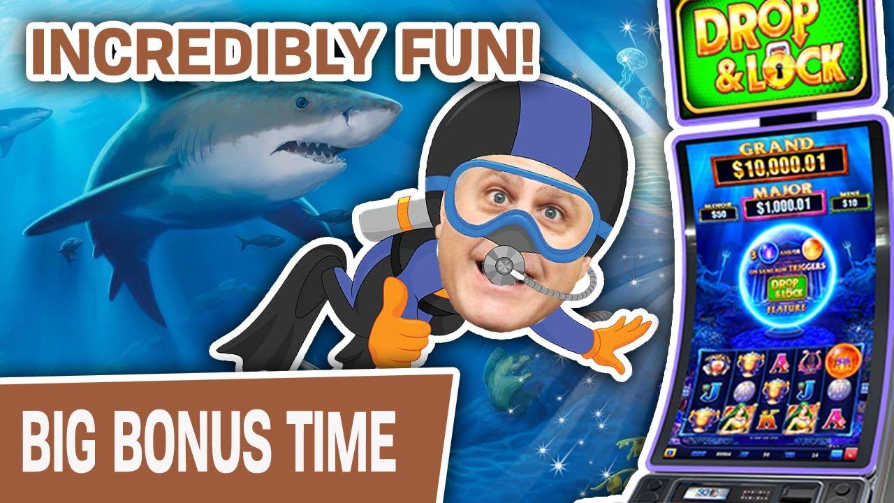 🎉 INCREDIBLY Fun Slot Machine! 🤿 Win or Lose, Drop N Lock: Deep Sea Magic Is AMAZING