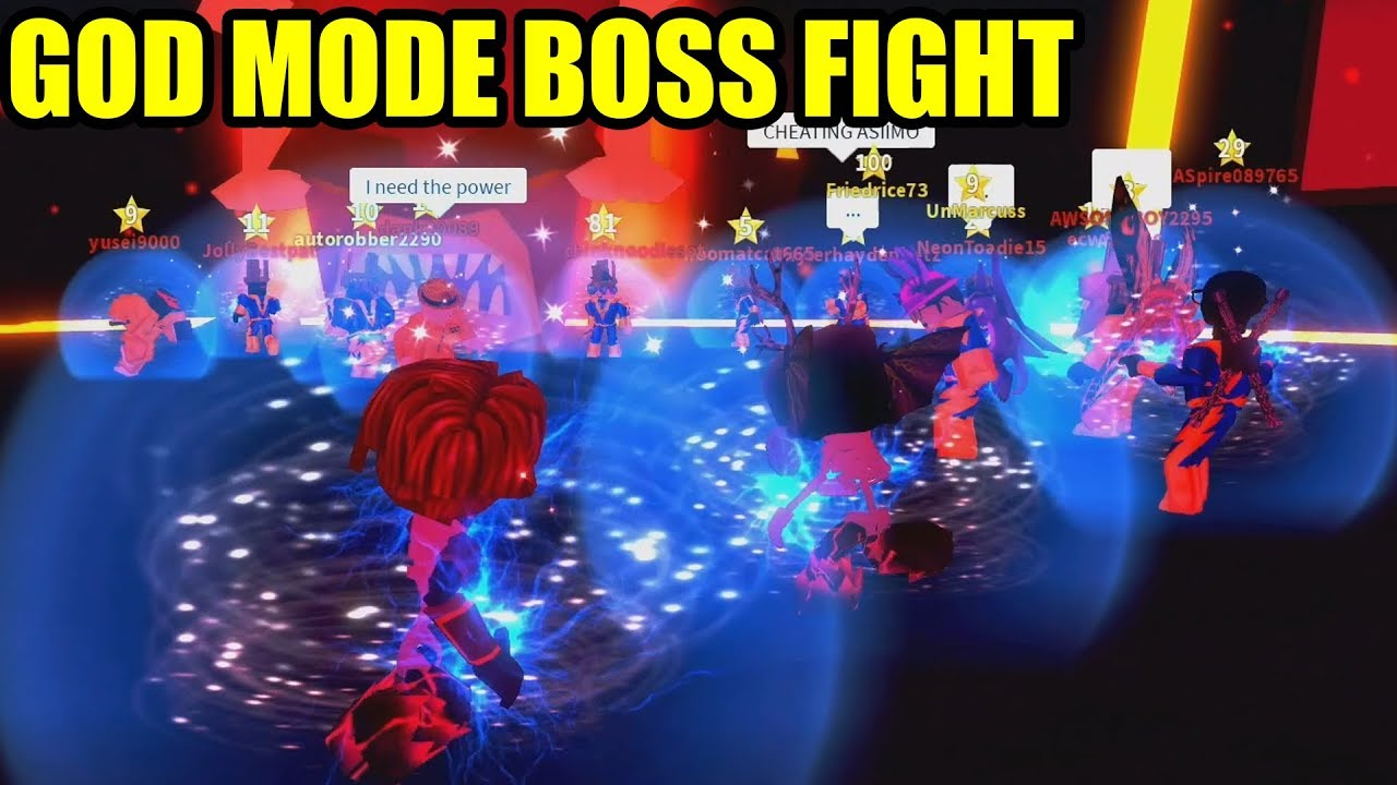 CHEATING in MAD CITY BOSS FIGHT | Roblox Mad City #1