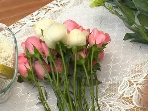 Hướng dẫn làm hoa cưới
