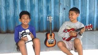 Lagu bali united bangga mengawalmu part 2 versi(ukulele dan gendang)