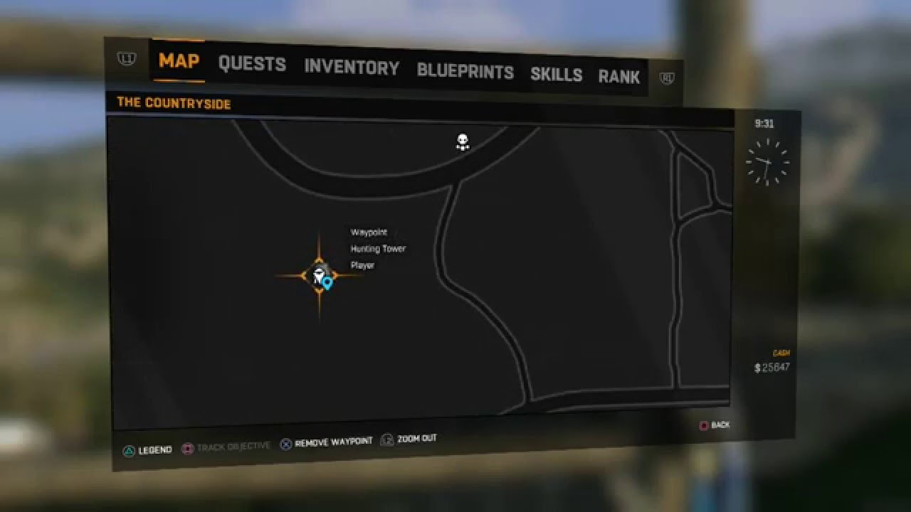 Frost bite blueprint location dying light the following frost bite blueprint location dying light the following blueprint guide malvernweather Choice Image