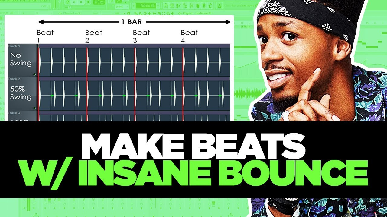 How To Make Beats With BOUNCE Using Percussion (CRAZY FL STUDIO TIP!)