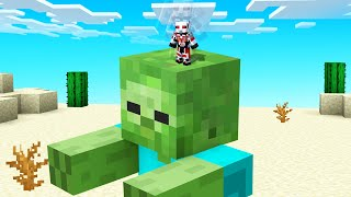 Playing MINECRAFT As ANT MAN! (tiny)