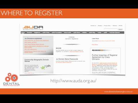Australian Dental Practice Website—Domain Names