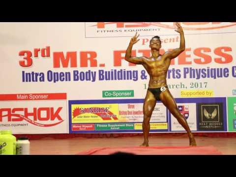 Best Performance ever at (MR. FITNESS FIRST- 2017) - Trijan Manandhar