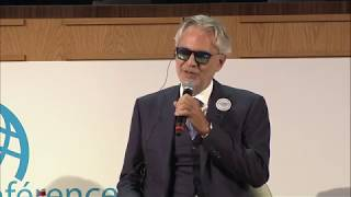 "Andrea Bocelli Foundation lancia ""Voices of the World"""