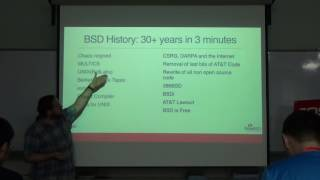 FreeBSD is not a Linux Distro - Philip Paeps - FOSSASIA Summit 2017