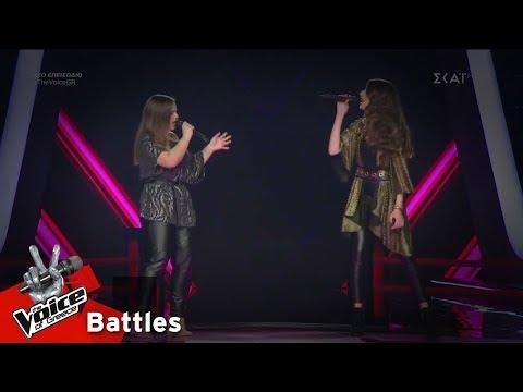 Ντόνα Μπραχουσάι vs Αμαλία Τζίτζη - Rockabye | 5o Battle | The Voice of Greece