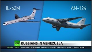 OOOOOOOH SNAP!! Russian Planes With Military Members Arrive In Venezuela? Tic Toc Tic Toc