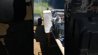 Démarrage moteur Rotax Max 125 - (à l'arrêt depuis 2011)