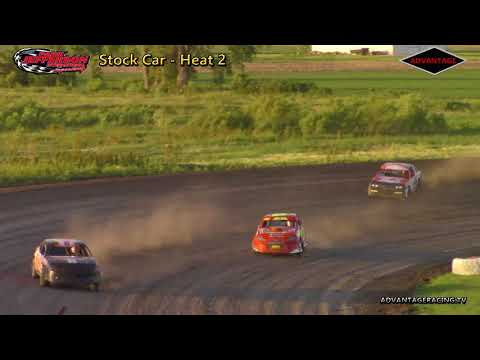 Stock Car Heats - Park Jefferson Speedway - 6/2/18