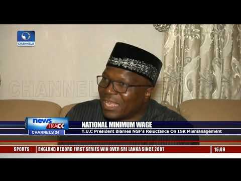 T.U.C President Blames NGF's Reluctance On IGR Mismanagement