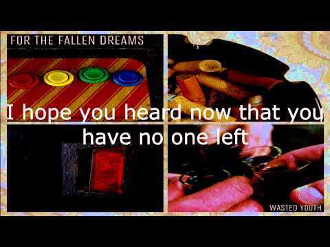 Клип For The Fallen Dreams - Waking Up Alone