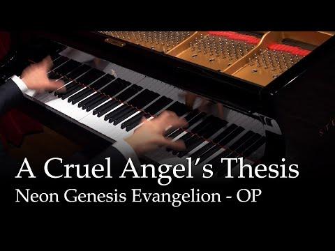 A Cruel Angel's Thesis - Neon Genesis Evangelion OP [piano]