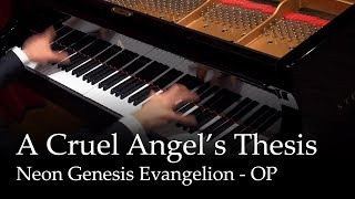 Download lagu A Cruel Angel's Thesis - Neon Genesis Evangelion OP [Piano]