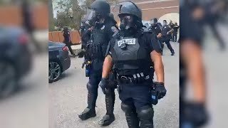 Police arrest MLive reporter filming a Proud Boys rally in Kalamazoo, Michigan