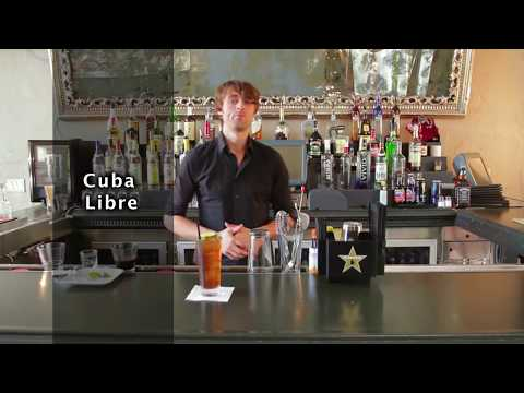 Cuba Libre Cocktail Recipe - How to Make a Cuba Libre
