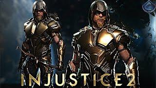Injustice 2 Online - LEGENDARY GOLDEN HOOD GREEN ARROW!