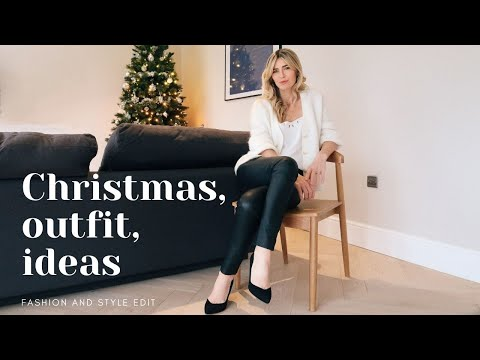 5 ELEGANT CHRISTMAS OUTFIT IDEAS   Winter Outfits 2020