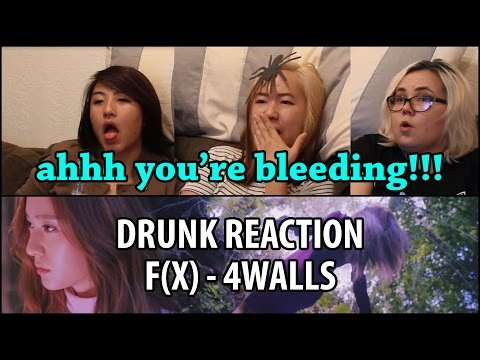 Drunk Family Reacts | f(x) 4 Walls (에프엑스 포 월즈) MV