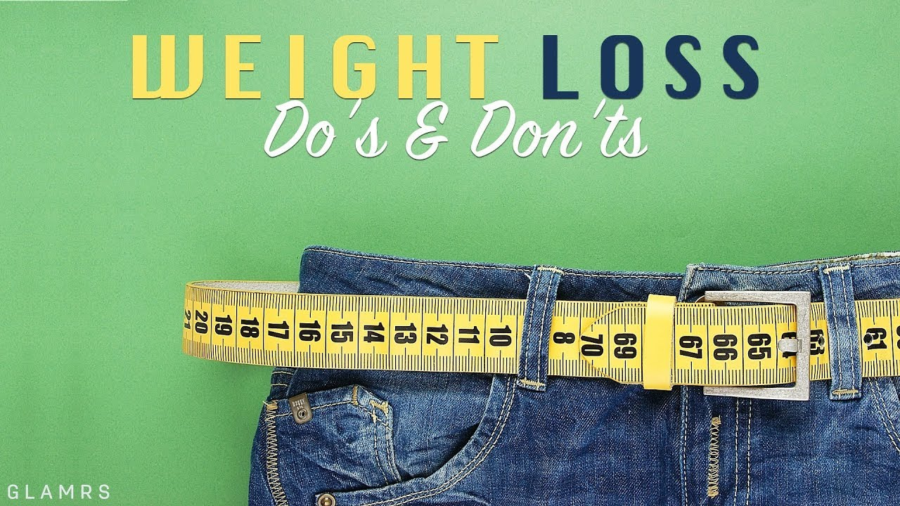 <div>Do's And Don'ts To Lose Weight | Weight Loss Tips</div>