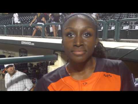 A.J. Andrews talks about her LSU Career,Playing with Chicago Bandits