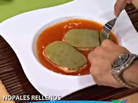 Nopales Rellenos  YouTube