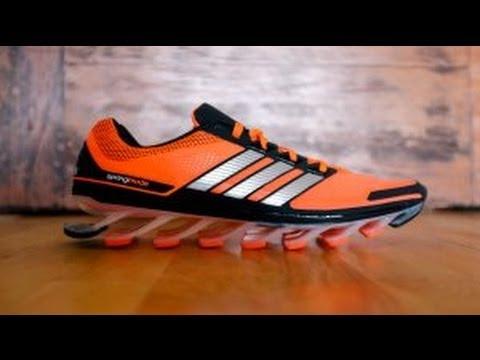 d254e4d418e Adidas Spring Blade !!! Chaussures Futuristes  !! - YouTube