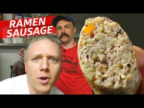 Which Sausage Expert Can Make the Best Ramen Sausage? — Prime Time