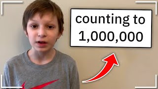 Spending 11.5 Days counting to 1 Million... | r/kidsarestupid