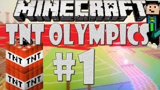 Minecraft: TNT OLYMPICS - Hürdenlauf - [#1/4] - Wie schnell sich alles doch wenden kann :D | GommeHD