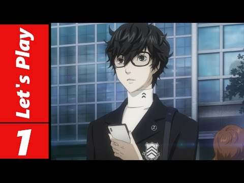 Let's Play Persona 5 #1: We're a Criminal!?