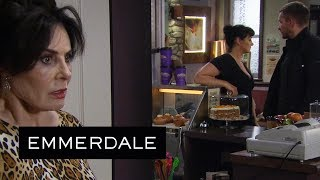 Emmerdale - Faith Becomes Suspicious of Pete and Moira