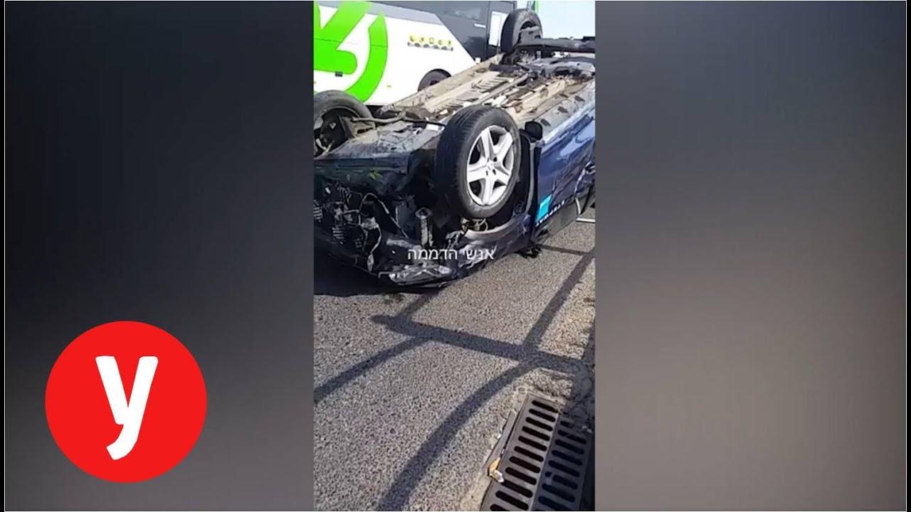 צפו: רכבו ההפוך של שחקן מ.ס אשדוד