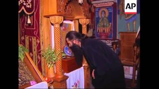 Orthodox monks make wine