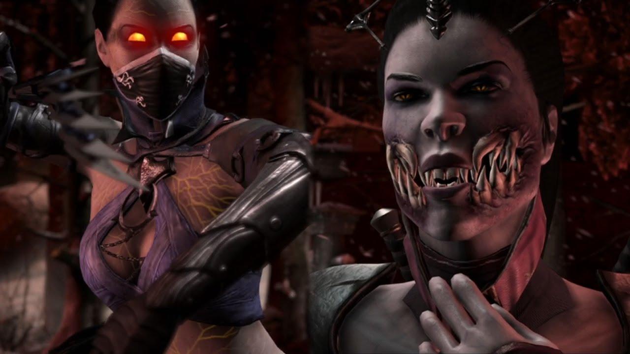 Mortal Kombat X Ps4 Revenant Kitana Vs Vampiress Mileena
