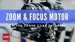 Zhiyun Tech TransMount Focus & Zoom Servo Combo Kit for Crane 3 Lab