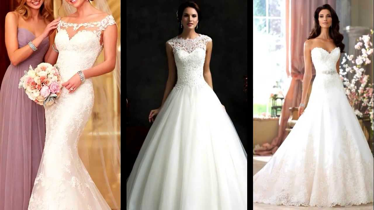 Cute Wedding Dresses - YouTube